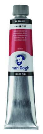 Масляная краска Royal Talens Van Gogh №314 кадмий красный средний 200 мл