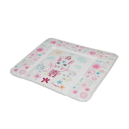Матрас для пеленания Baby Care Фанни Банни, 820х730х210, розовый