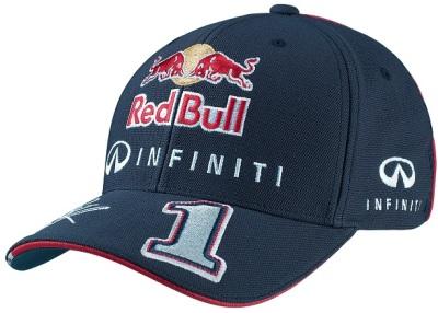 Бейсболка Infiniti Red Bull Sebastian Vettel Driver M-114173