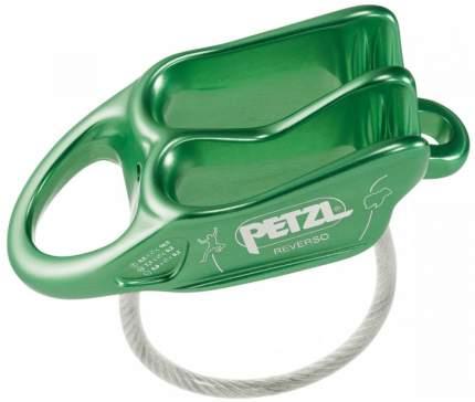 Страховочно-спусковое устройство Petzl Reverso зеленое