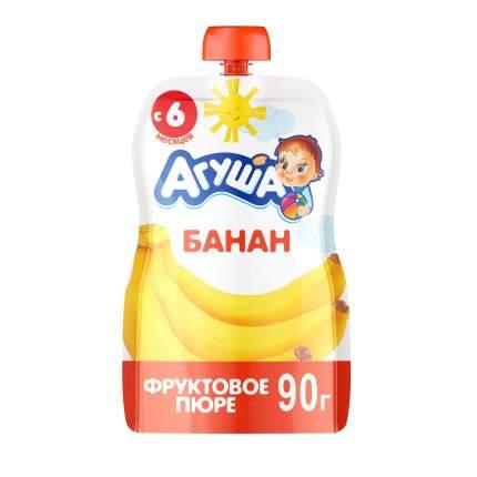 Пюре фруктовое Агуша Банан с 6 мес. 90 г