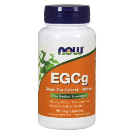 NOW EGCg Green Tea Extract 400 мг (90 капсул)  - Эпигалокатехин Галат, зеленый чай