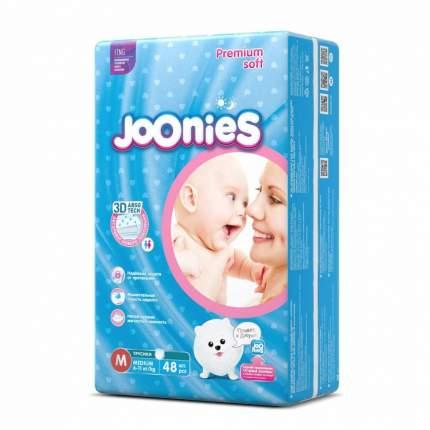 Подгузники-трусики JOONIES Premium Soft M (6-11 кг), 48 шт.