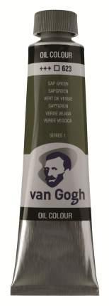 Краска масляная Van Gogh туба 40мл №623 Зеленый травяной