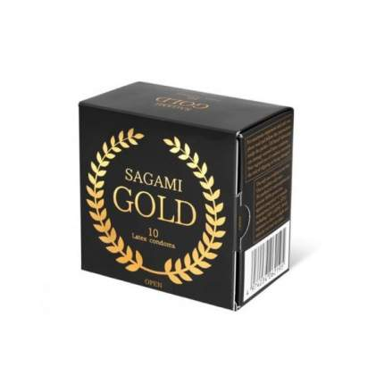 Презервативы Sagami Gold 10 шт.