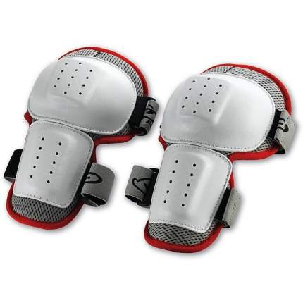Защита колена NIDECKER Knee Guards Multisport белая/красная, One Size