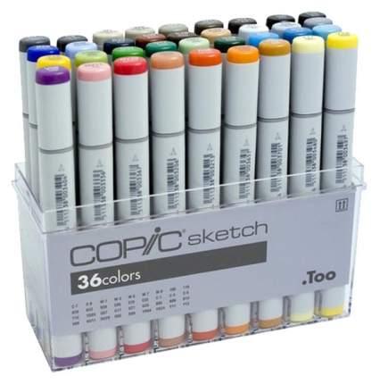 Набор маркеров Copic «Sketch» 36 цветов