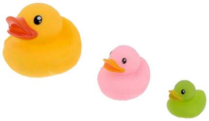 Набор игрушек для купания «Утки», 3 шт. Sima-Land
