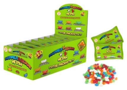 """Настольная игра """"Мармеладские игры"""", в пакете, 2 серия, 50 гр. Zed Candy"""