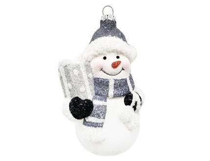 Елочная игрушка Новогодняя сказка 5х5х11 см 1 шт 973136
