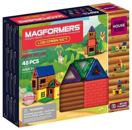 Магнитный конструктор MAGFORMERS 705006 Log cabin set