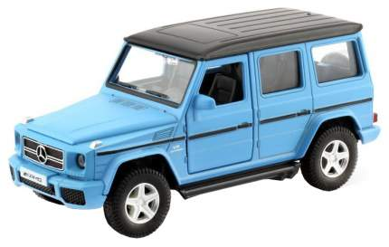Машина металлическая RMZ City 1:35 MERCEDES BENZ G63, Цвет матовый голубой