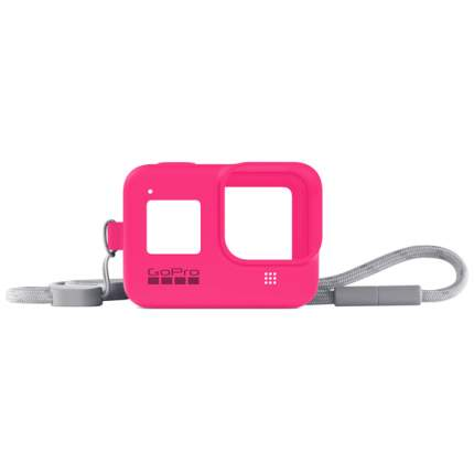 Чехол GoPro Sleeve + Lanyard HERO8 Neon Pink (AJSST-007)