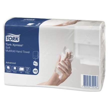 Полотенца H2 TORK Xpress Advanced листовые 190 листов 2слоя белые 21*23.4 см