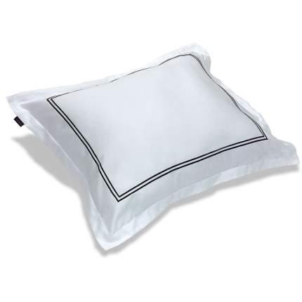 Наволочка 70x70см Gant Home SATEEN STITCH, цвет белый