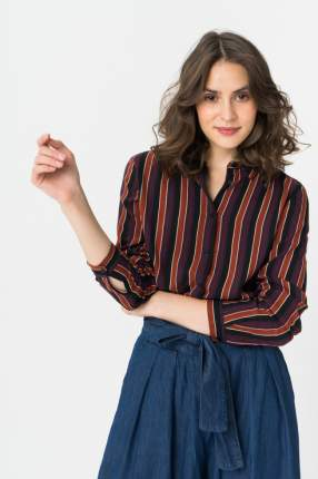Рубашка женская b.young 20806874 разноцветная 34 EU