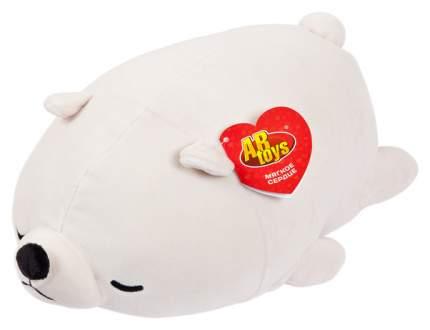 Медвежонок полярный, 27 см игрушка мягкая