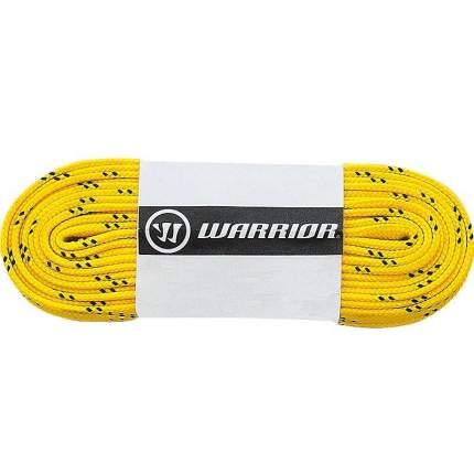 Шнурки хоккейные Warrior Laces Wax с пропиткой 304 см,