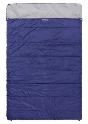 Спальный мешок Jungle Camp Trento Double, двухместный, две молнии, цвет: синий