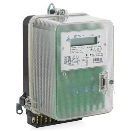 Счетчик электроэнергии Пзип ЦЭ2727A.E2. 5/10A B02 3*220/380В, 36205