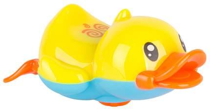 Игрушка пласт.заводная для воды, утка, МиниМаниЯ, РАС 13х5х18см, арт. М6324.