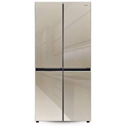 Холодильник многодверный Ginzzu NFK-525 шампань стекло