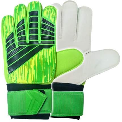 Вратарские перчатки Hawk E29482, зеленый, 8