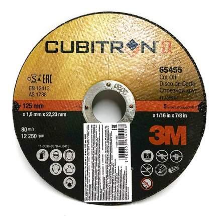 Отрезной круг Т41, Cubitron™ II, 125 мм x 1,6 мм x 22,23 мм, A60, 65455