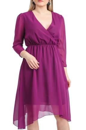 Платье женское LACY S47918(4083-2990) фиолетовое 52 RU