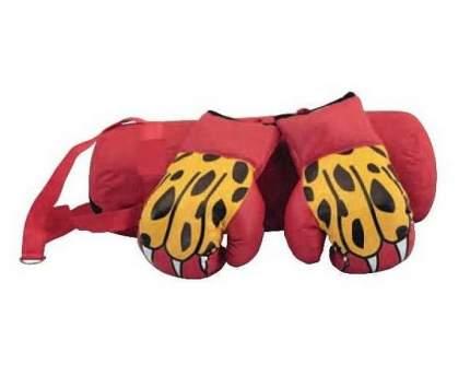 Набор боксерский детский (мешок + перчатки), BS, цвет красный (10 унций)