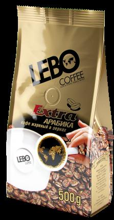Кофе в зернах Lebo extra 500 г
