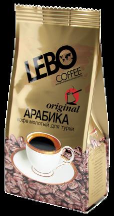 Кофе молотый Lebo original  для турки 100 г