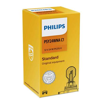 Лампа Накаливания Psy24w 12v 24w Pg20/4 Hiper Vision Philips арт. 12188NAC1