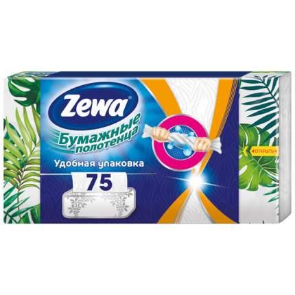 Бумажные полотенца Зева в коробке 75 штук