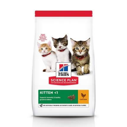 Сухой корм для котят Hill's Science Plan Kitten, для здорового роста, курица, 1,5кг