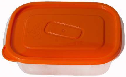 Контейнер для хранения пищи Good & Good SQ 2-1/COL ONE TOUCH Прозрачный; оранжевый