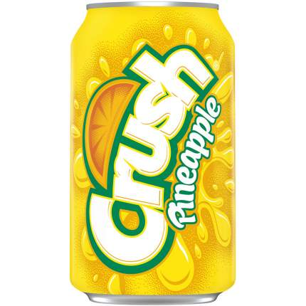 Напиток Crush pineapple жестяная банка 0.36 л