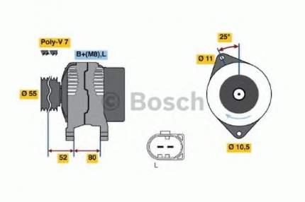 Генератор Bosch 0986046210