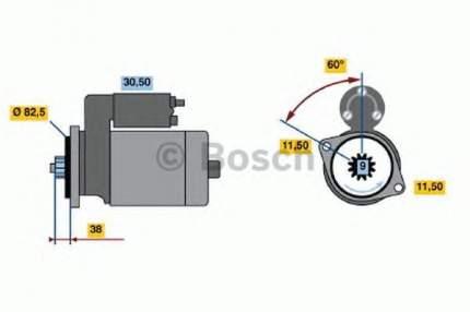 Стартер Bosch 0986014341
