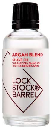 Масло для бороды Lock Stock and Barrel Argan Blend Shave Oil 50 мл