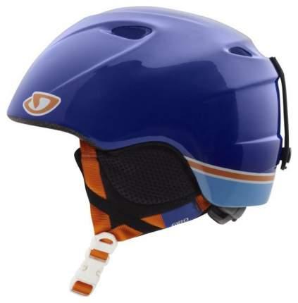 Горнолыжный шлем детский Giro Slingshot 2016, синий, S/XS