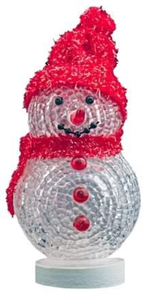 Светильник новогодний CBR Снеговик многоцветная подсветка NY 070