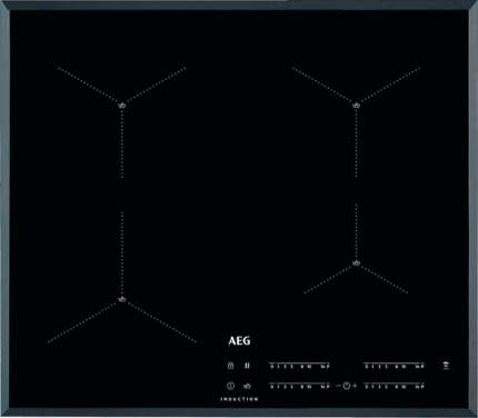 Встраиваемая варочная панель индукционная AEG AR64413FB Black
