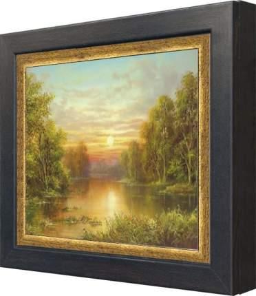 """Ключница """"Утро на озере"""" Венге"""