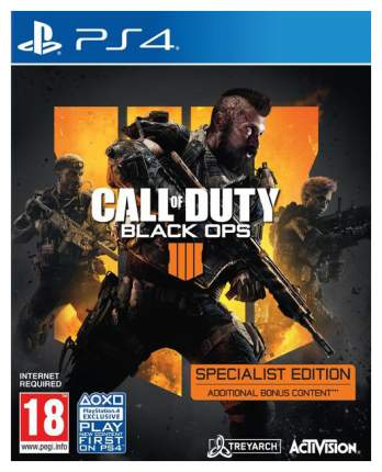Игра Call of Duty: Black Ops 4. Specialist Edition для PlayStation 4