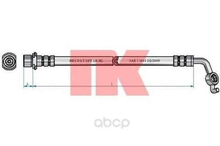 Шланг тормозной системы Nk 8545180 задний правый