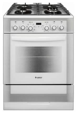 Комбинированная плита GEFEST ПГЭ 6502-03 0242 White/Silver