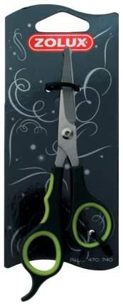 Ножницы для груминга прямые для собак и кошек ZOLUX закругленные концы