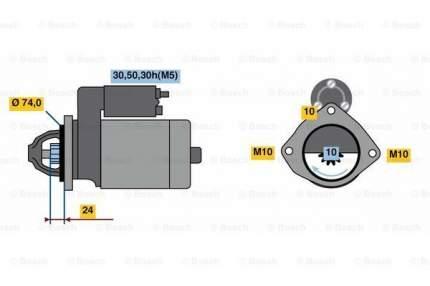 Стартер Bosch 0 986 022 930