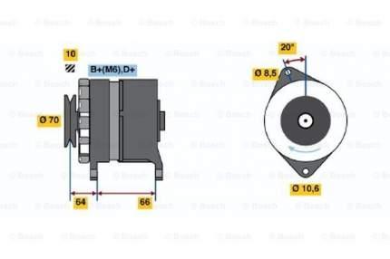 Генератор Bosch 0 986 030 990